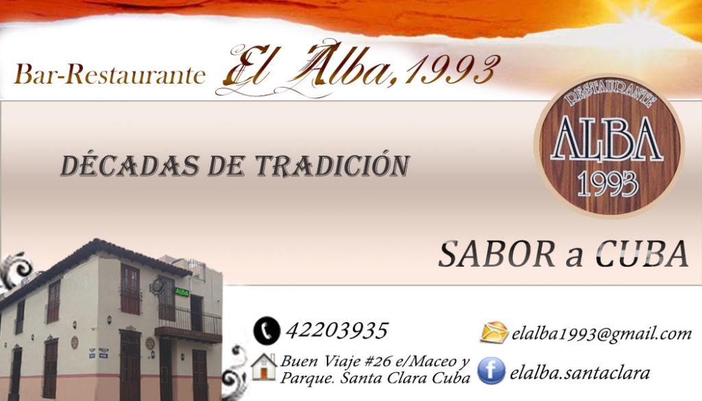 Bar-Restaurante Alba 1993